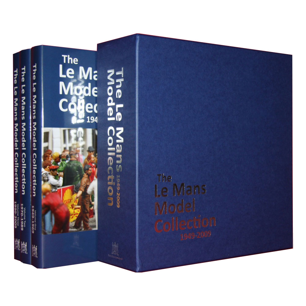 Product image for The Le Mans Model Collection 1949-2009 | 3 Volume Set | Hardback