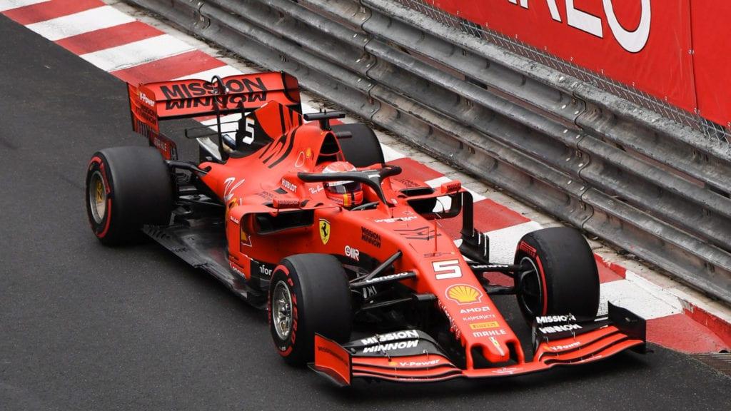 Sebastian Vettel, 2019 Monaco GP