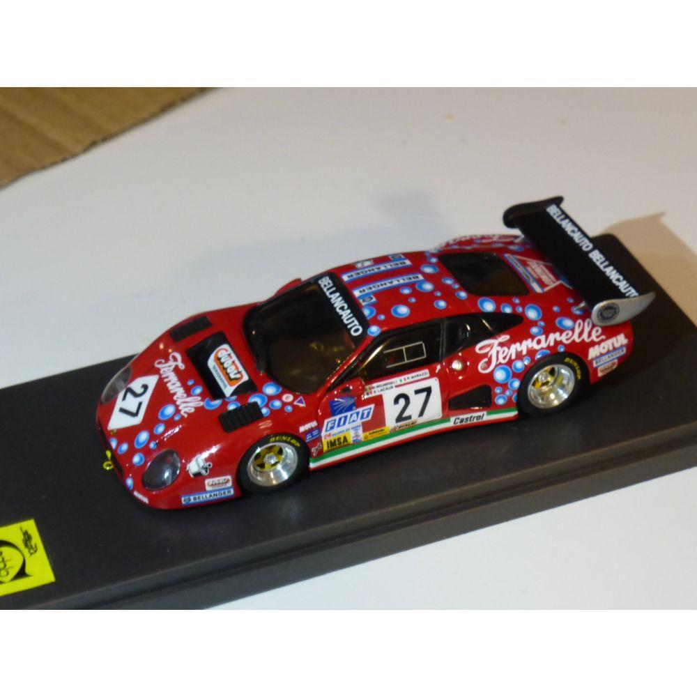 Product image for Ferrari 512BB | Bellancauto Le Mans 1984 | #27 Micangeli/Marazzi/Lacaud | Model | 1:43