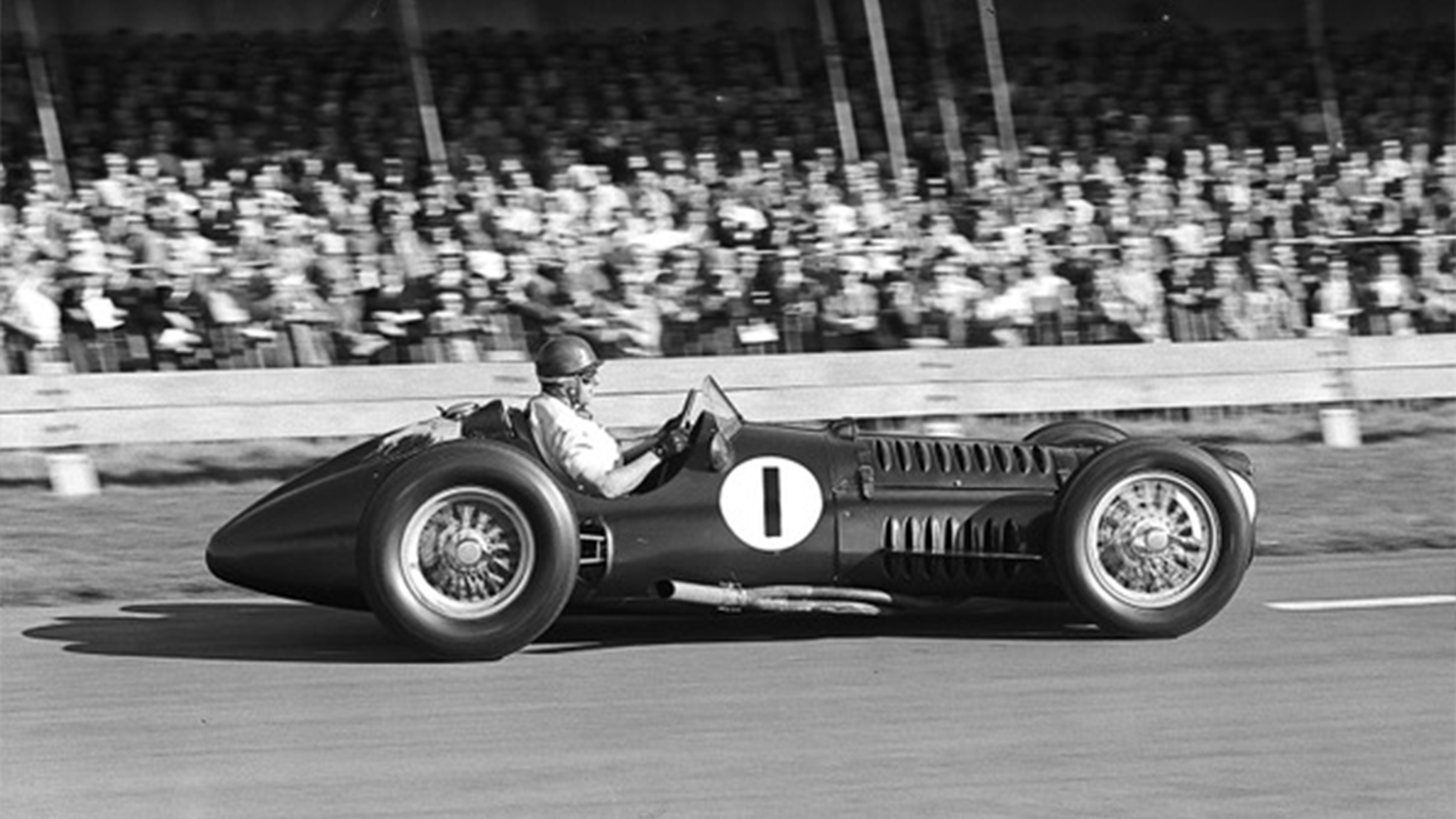 Fangio at Goodwood in the BRM V16 in 1953