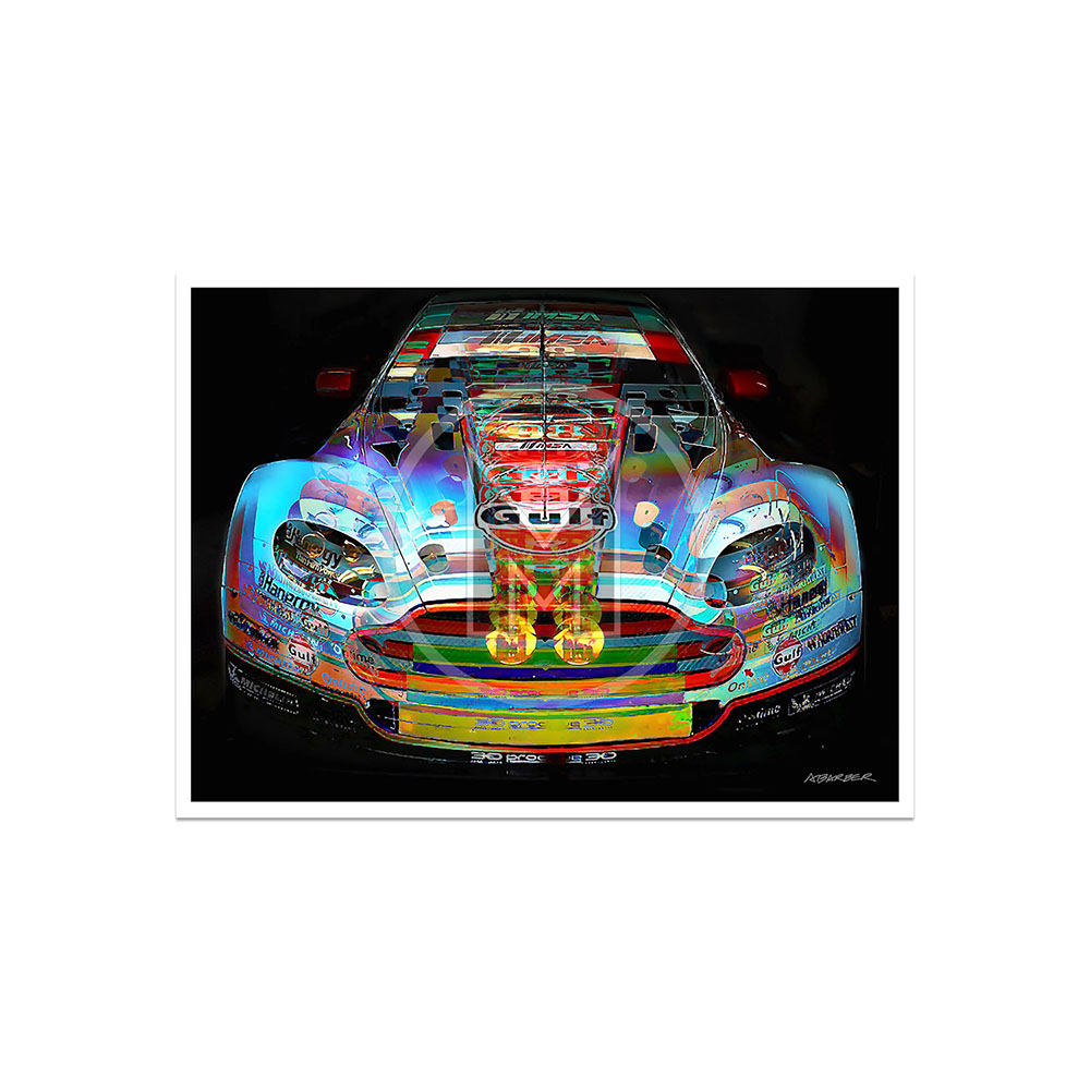 Product image for Aston Martin GTE  – Le Mans – 2014 | Andrew Barber | print