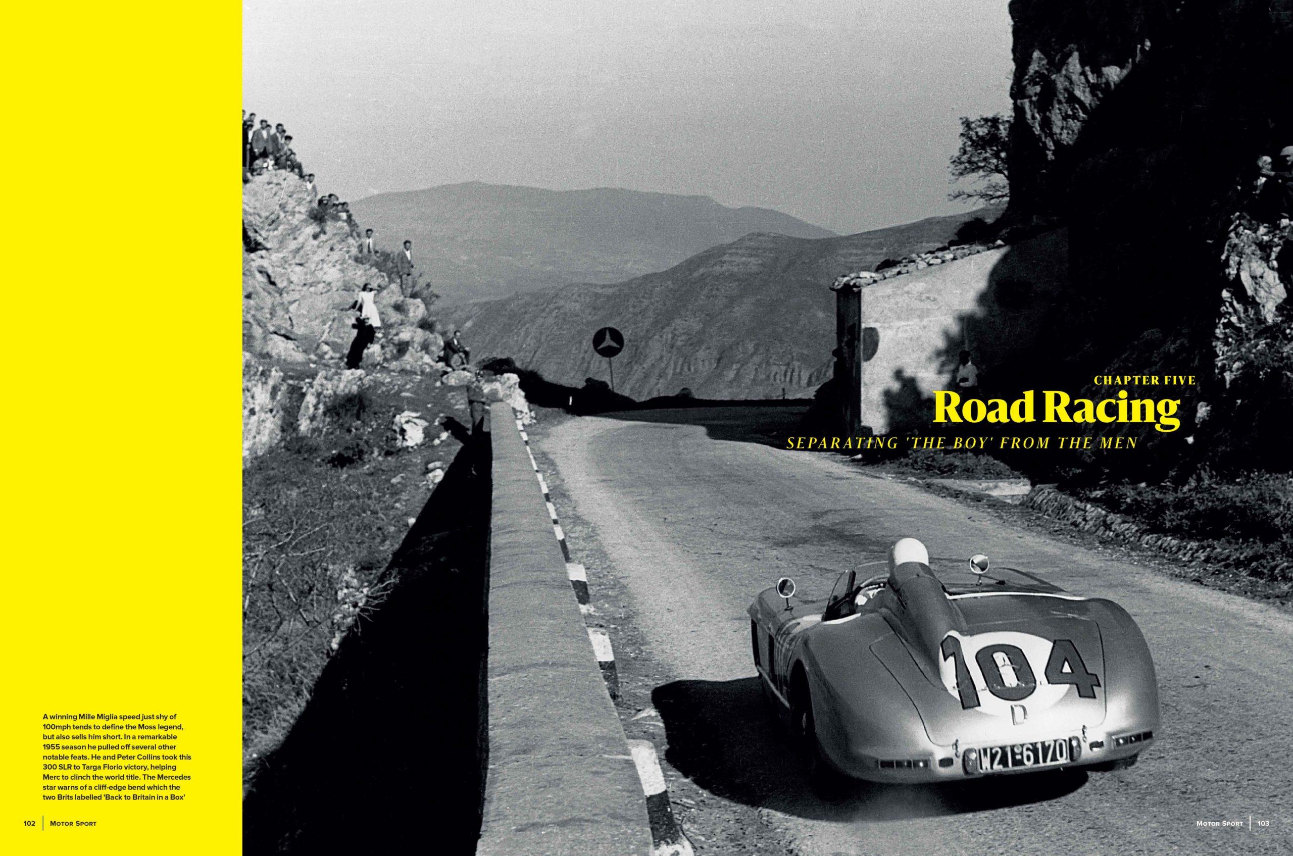 Moss road Racing spread