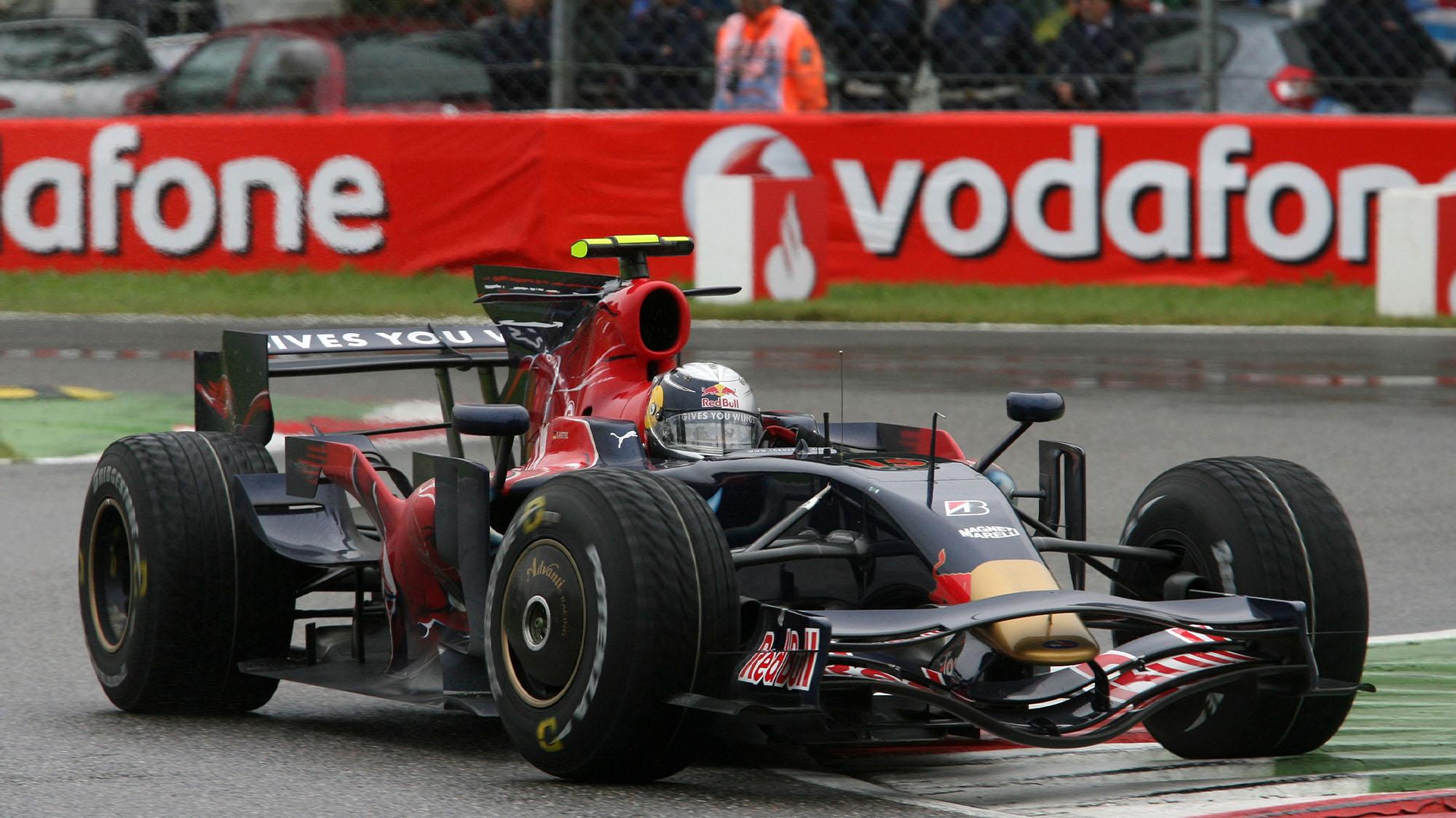 Sebastian Vettel Scuderia Toro Rosso 2008 Italian Grand Prix Monza