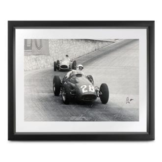 Product image for Monaco Collection   1956 Grand Prix   signed Stirling Moss   Lithographic print