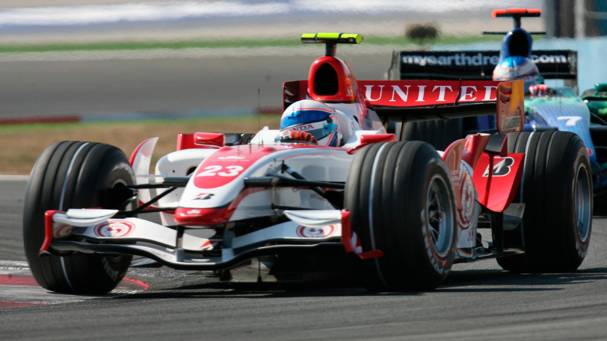 Anthony Davidson, 2007 Turkish GP