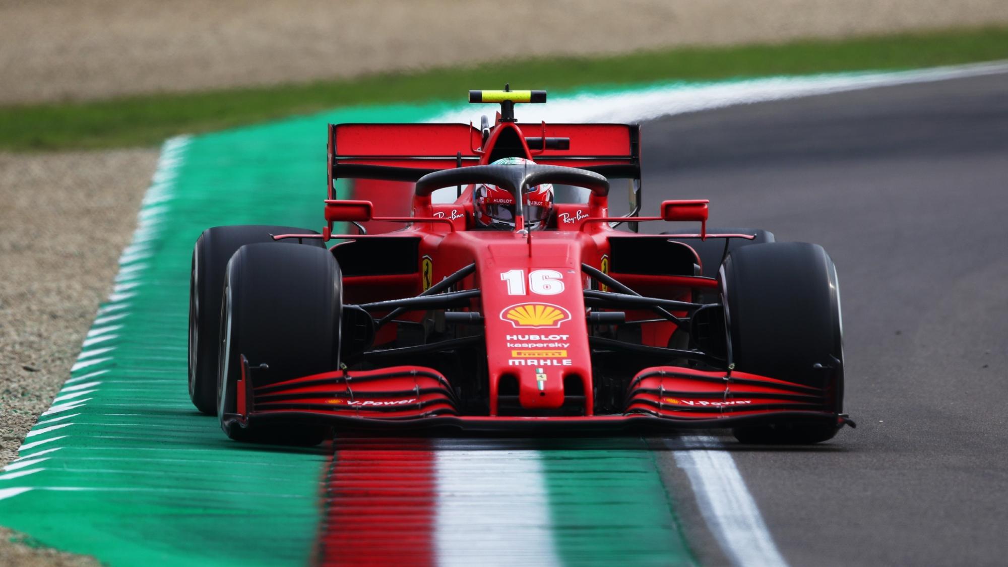 Charles Leclerc, 2020 Emilia Romagna GP