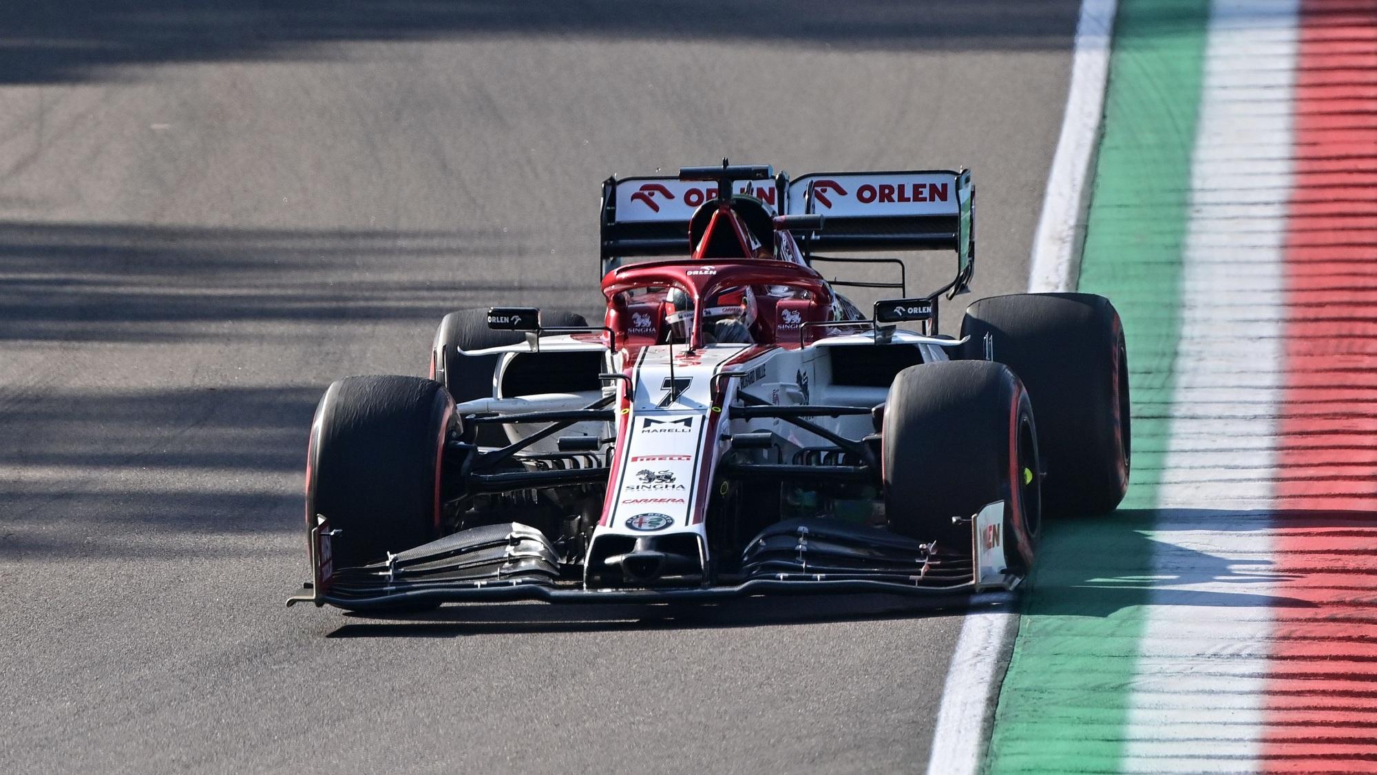 Kimi Raikkonen, 2020 Emilia Romagna GP