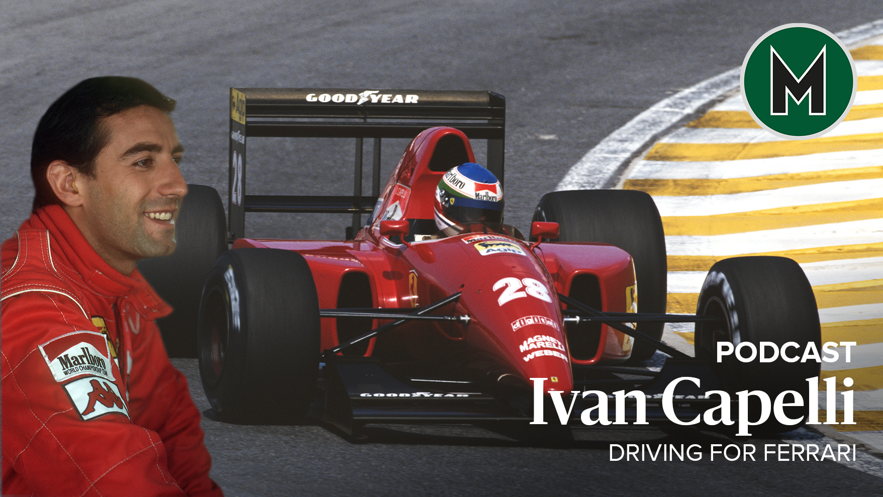 Podcast: Ivan Capelli, Driving for Ferrari