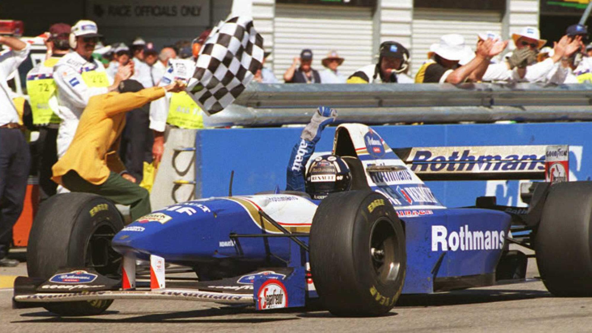Damon Hill, 1995 Australian GP