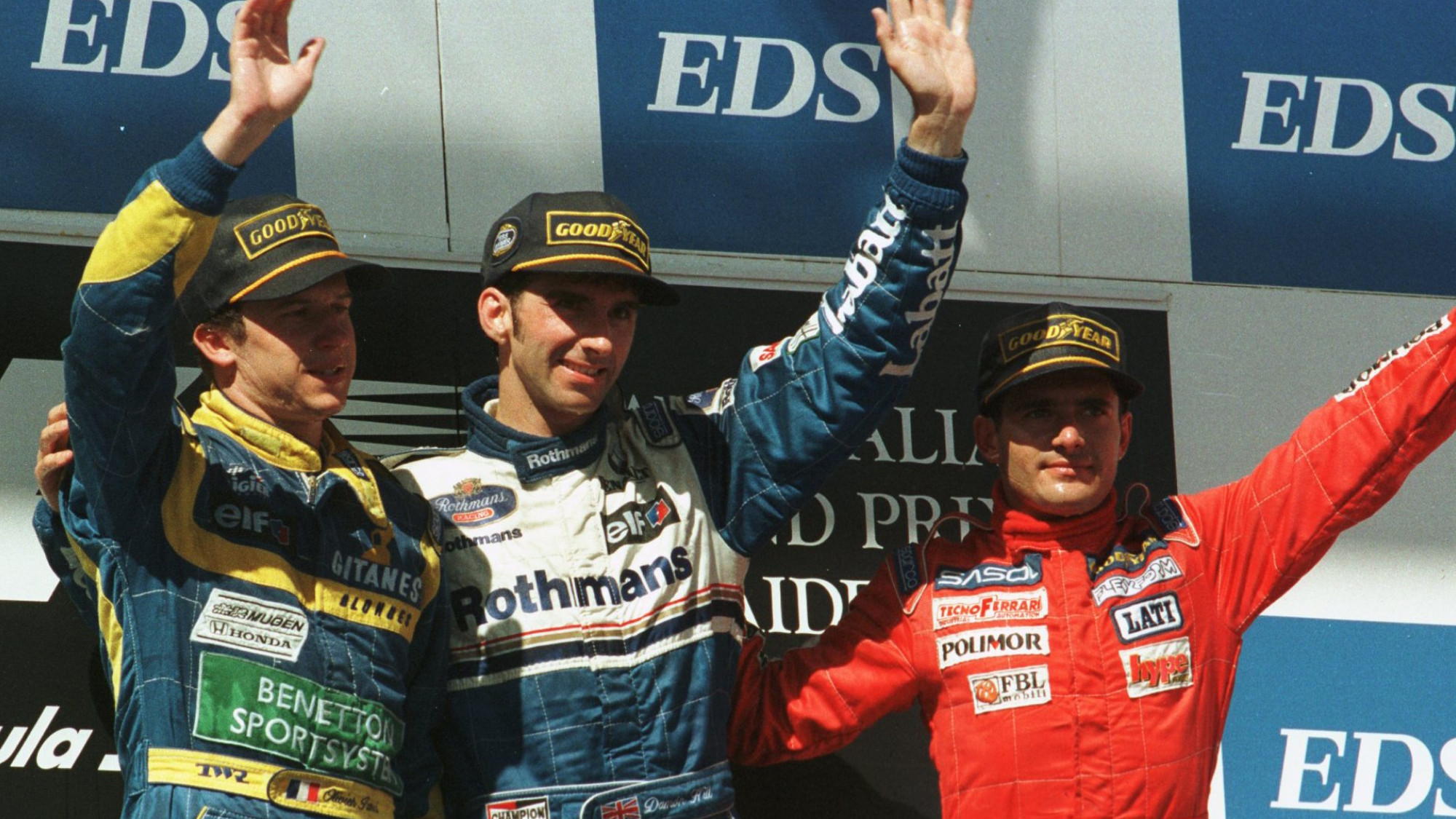 The final F1 race at Adelaide – Clive James' view of the '95 Australian GP