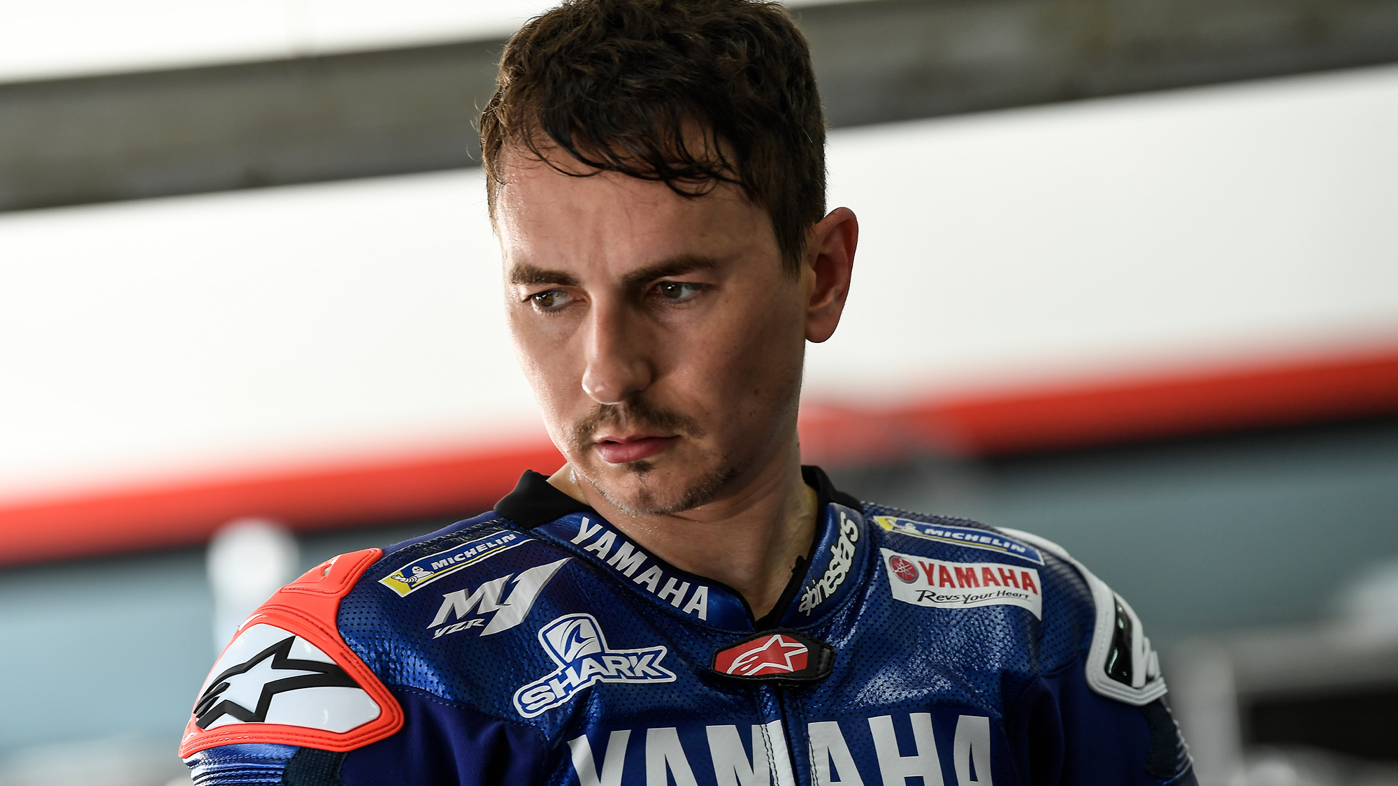 Jorge Lorenzo in his role as Yamaha test rider in 2020