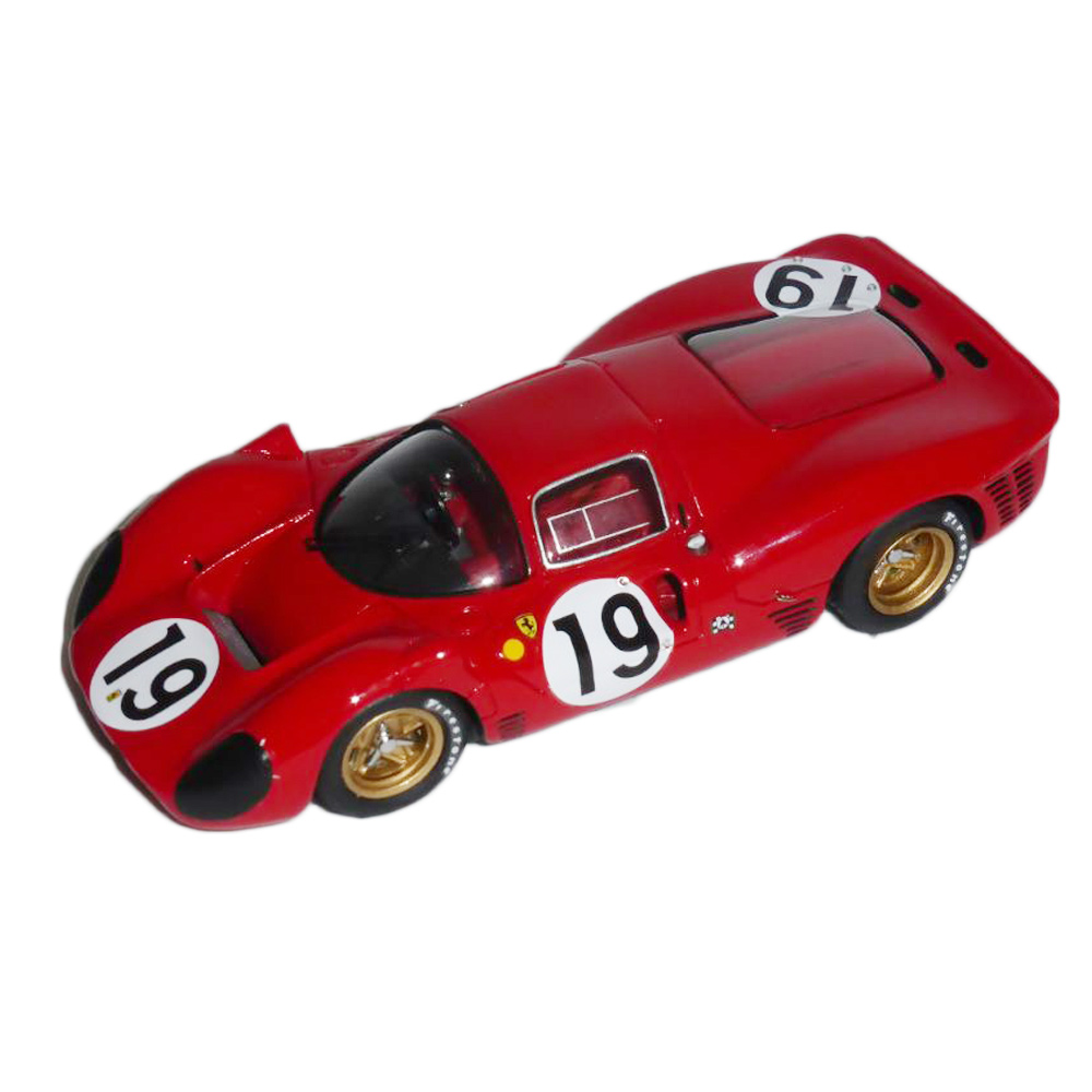 Product image for Ferrari 330 P4 Coupé | Le Mans 1967 | #19 Klass/Sutcliffe | Model | 1:43