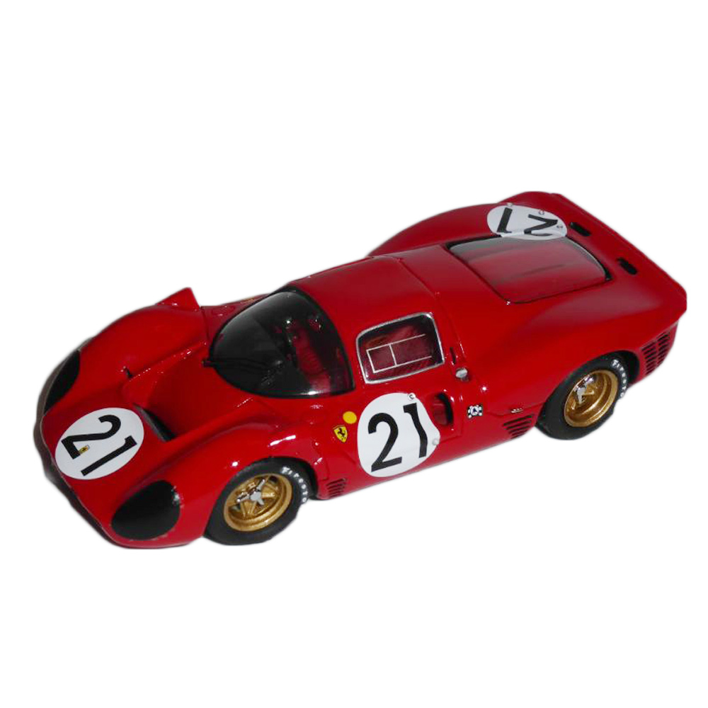 Product image for Ferrari 330 P4 Coupé | Le Mans 1967 | #21 Scarfiotti/Parkes | Model | 1:43