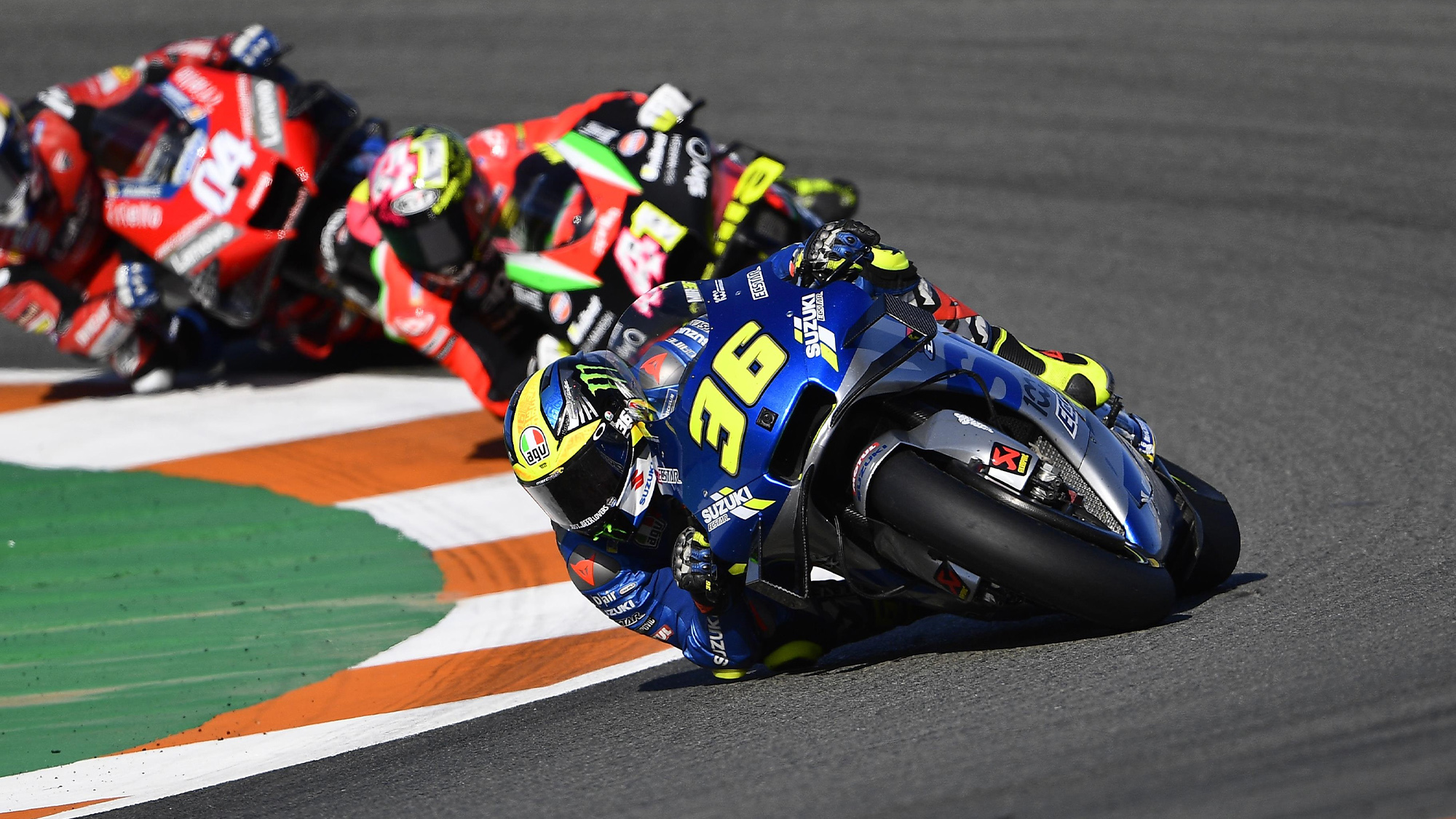 Joan Mir races to seventh place and his first MotoGP championship in the Valencia Grand Prix