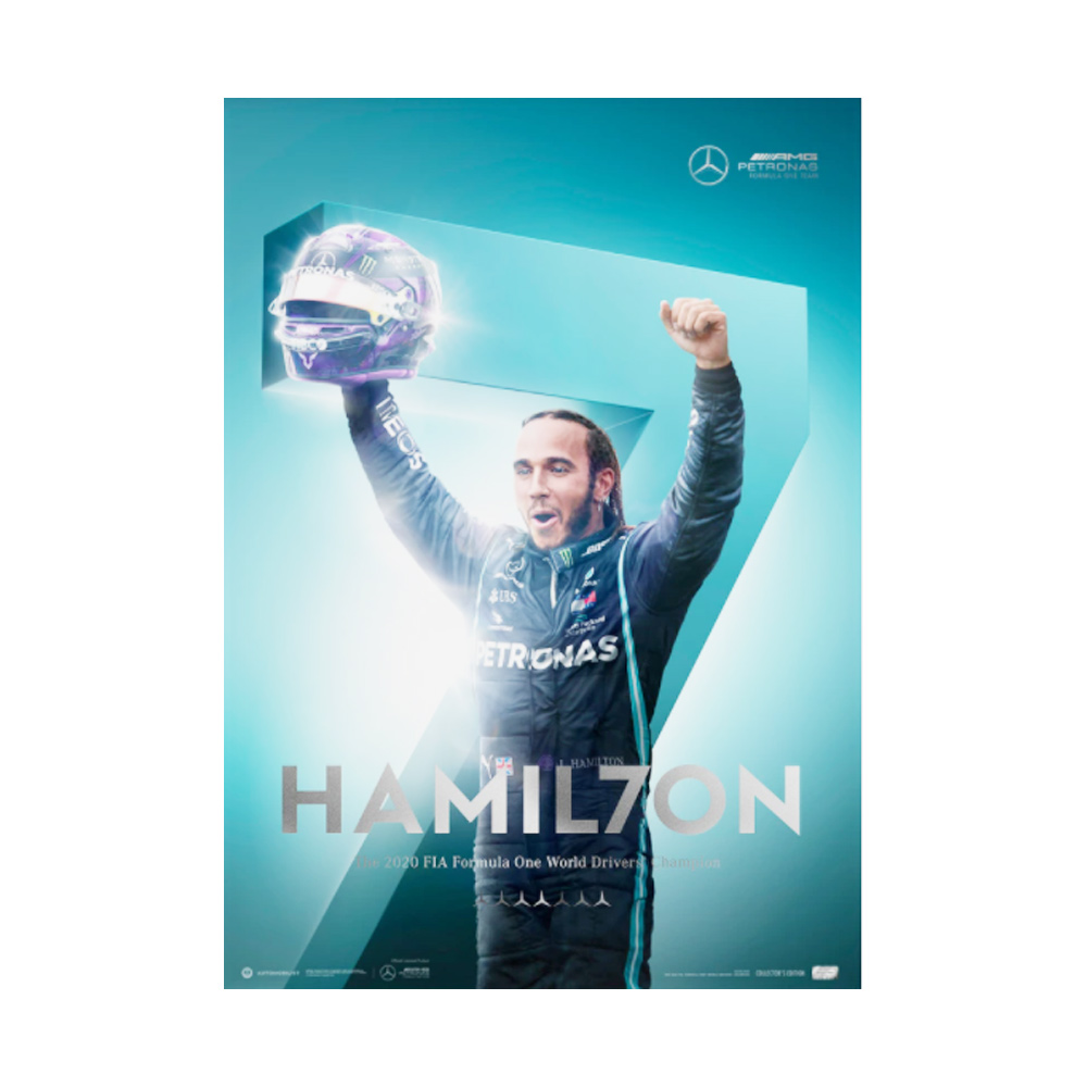 Product image for Mercedes-AMG Petronas F1 Team - HAMIL7ON | F1® World Drivers' Champion 7th Title | Automobilist | Collector's Edition