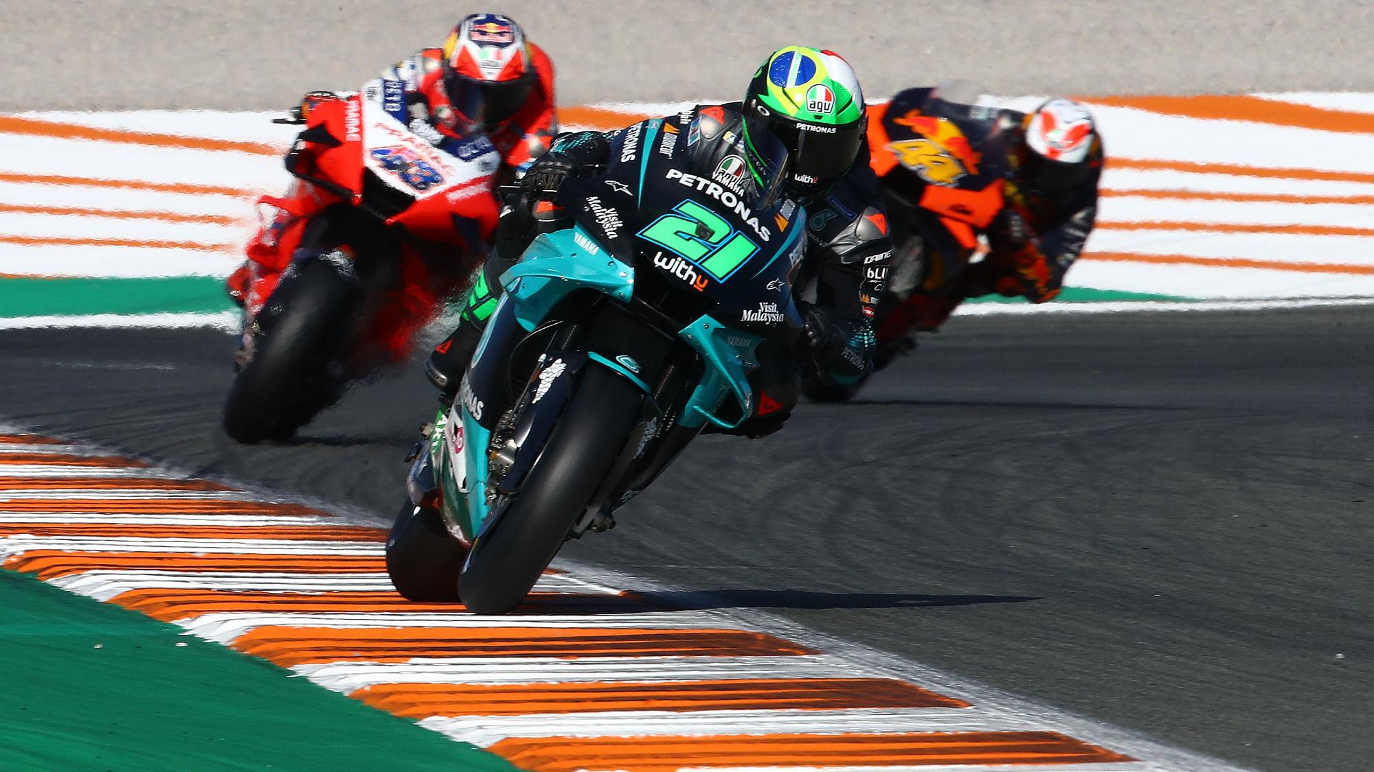 Valencia MotoGP: Morbidelli's engine miracle, Yamaha's nightmare continues