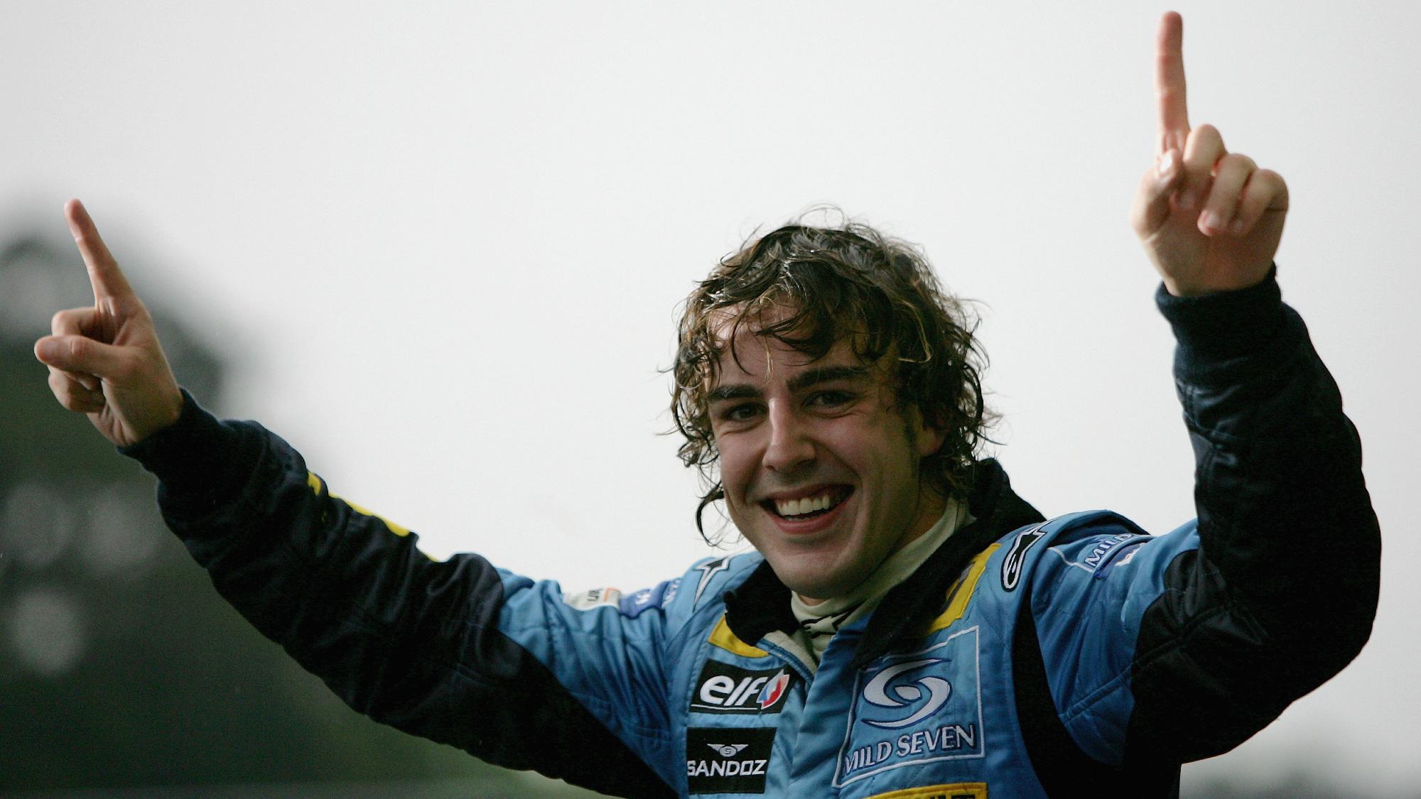 Fernando Alonso, 2005 Brazilian GP