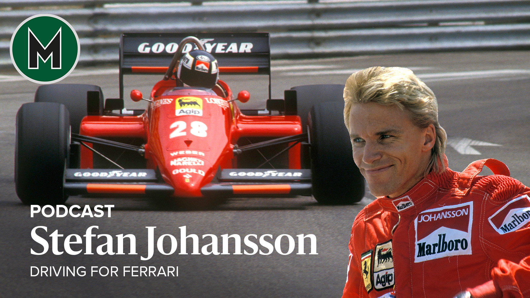 Podcast: Stefan Johansson, Driving for Ferrari