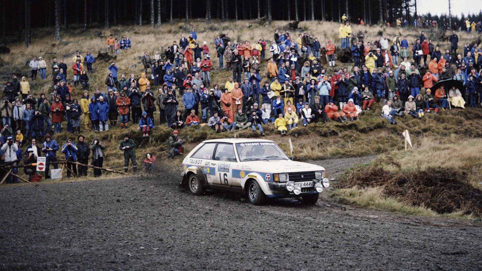 Henri Toivonen and Paul White, 1980 RAC Rally