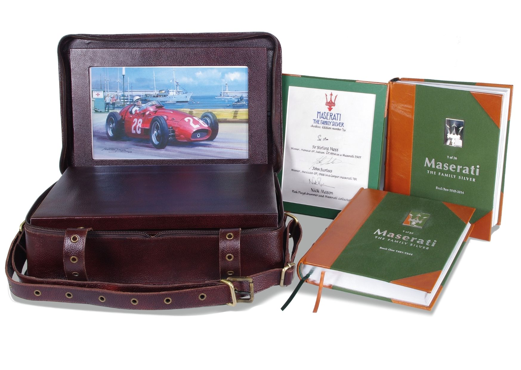 WIN a unique copy of Maserati: The Family Silver worth £12,950