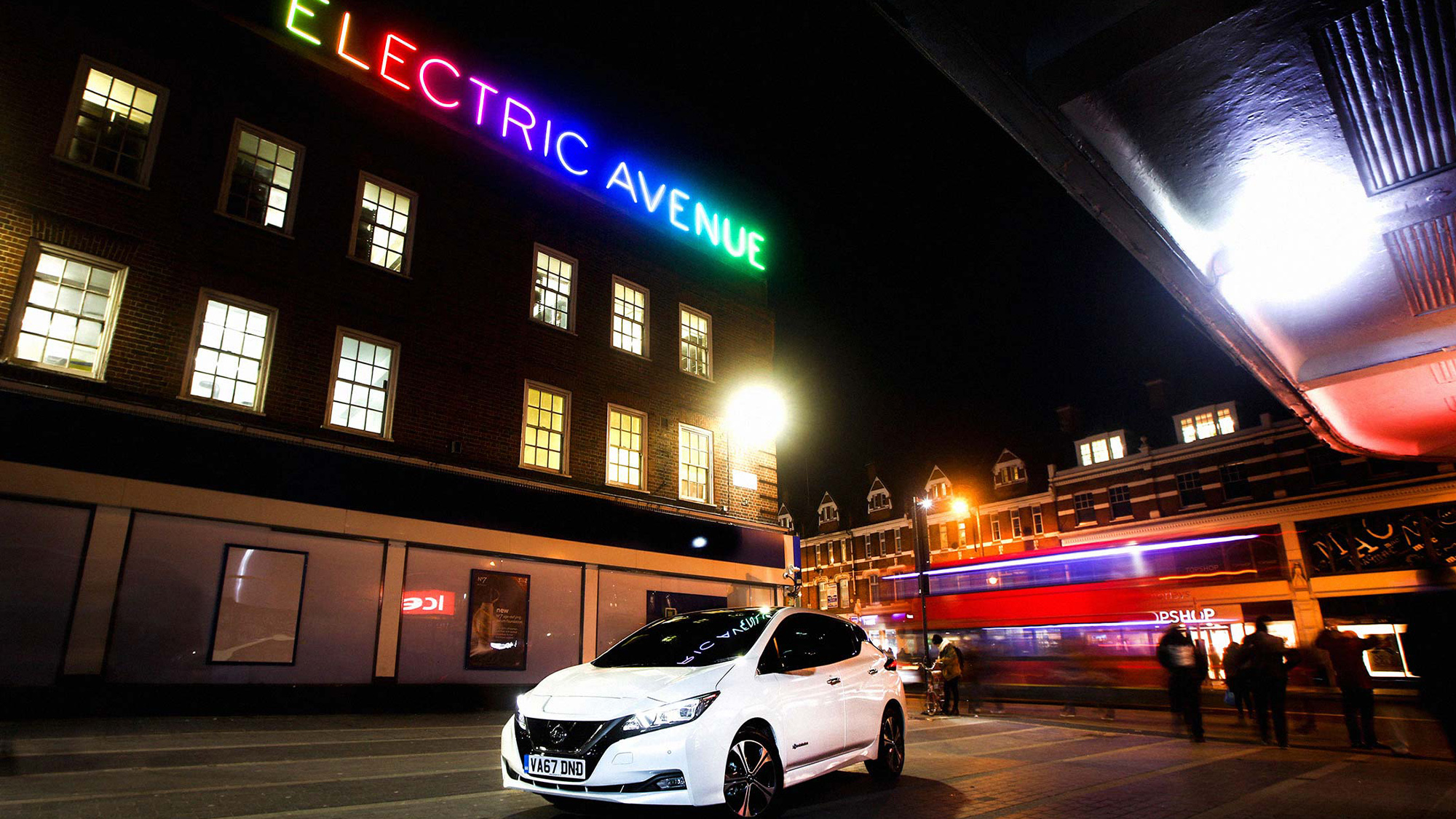 Nissan Leaf Electric Avenue