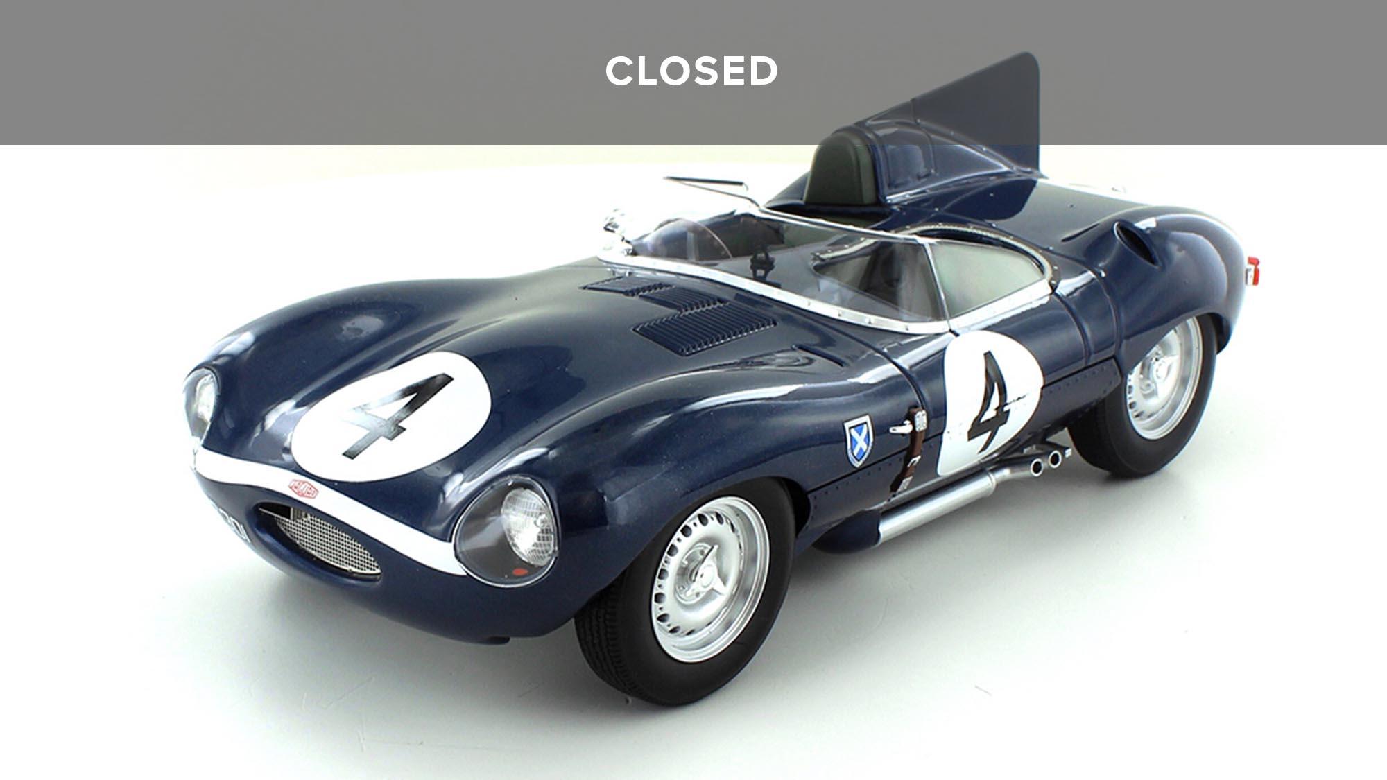 Win a Jaguar D type Sanderson-Flockhart Model