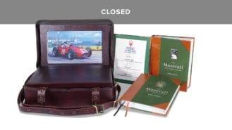 WIN a unique copy of Maserati: The Family Silver worth £12,950