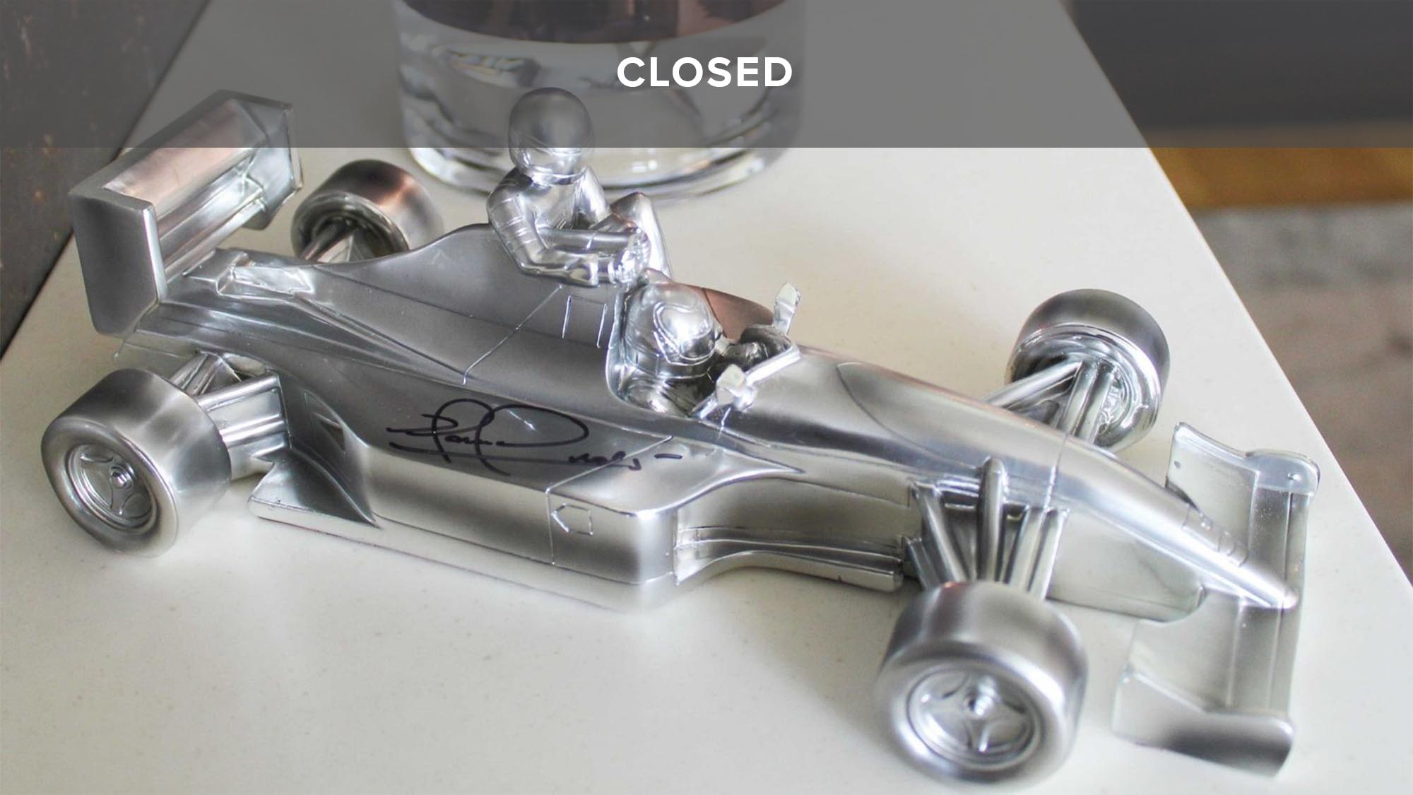 WIN a signed Taxi for Senna sculpture