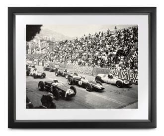 Product image for Monaco Collection   1960 Grand Prix   signed Tony Brooks   Lithographic print