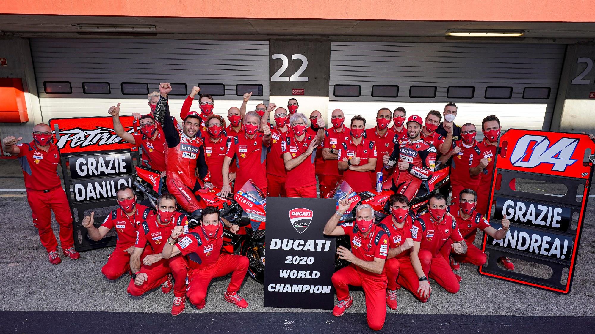 Ducati Corsa, 2020 Portuguese GP