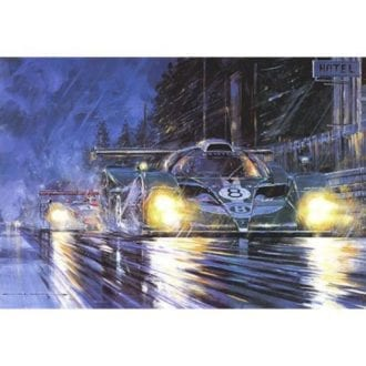 Product image for Bentley Returns   Nicholas Watts   Signed   Limited Edition Print