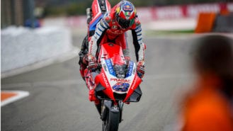 Ducati pins hopes on new Michelin front slick for 2021