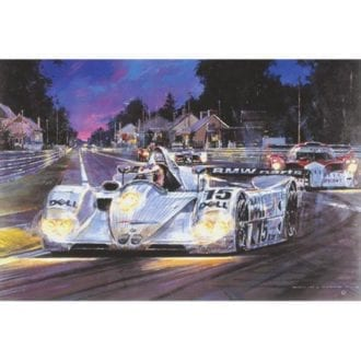 Product image for Le Mans 1999 | Nicholas Watts | Signed | Limited Edition Print