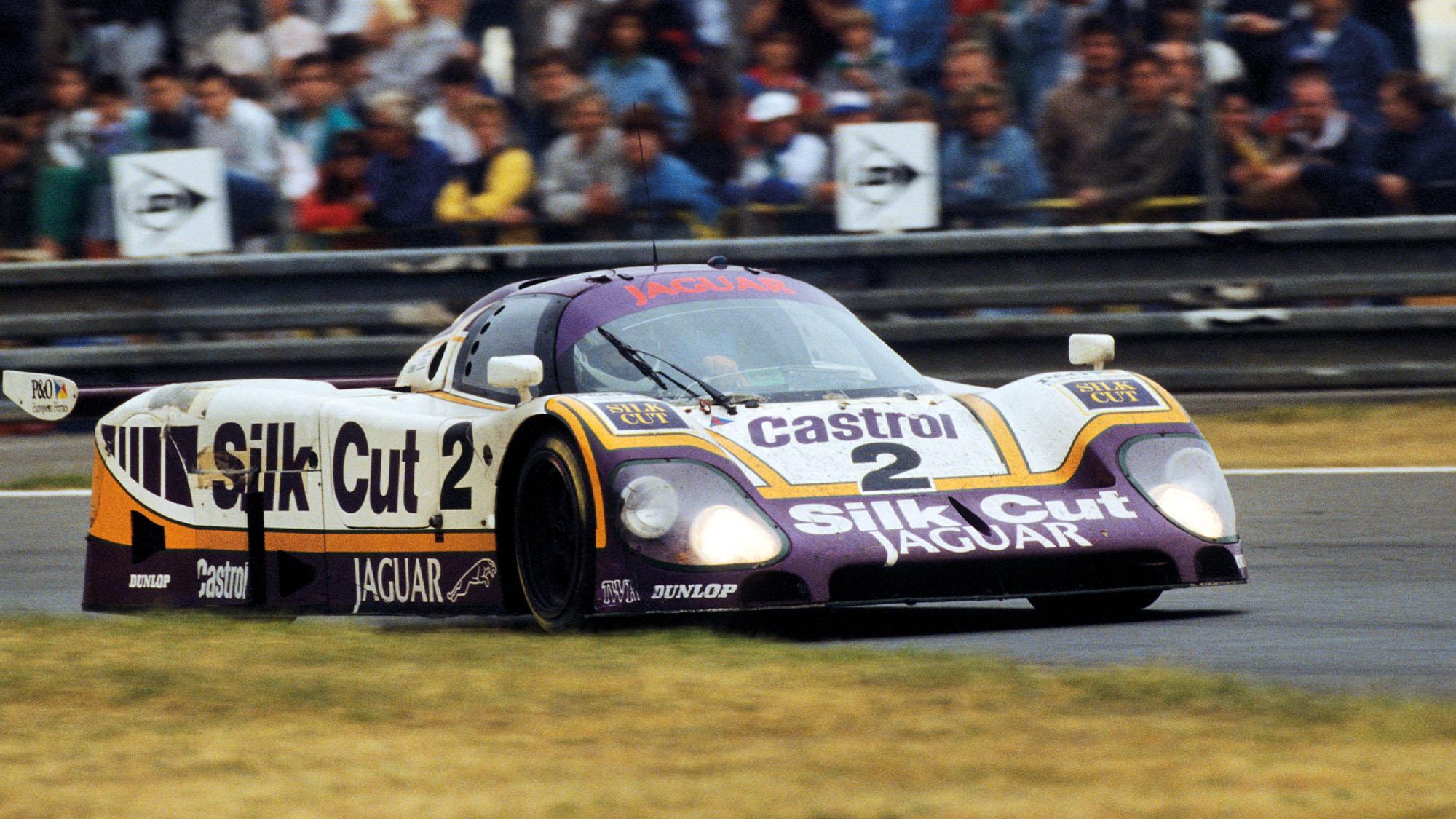 Johnny Dumfries Le Mans 1988 Jaguar XJR9