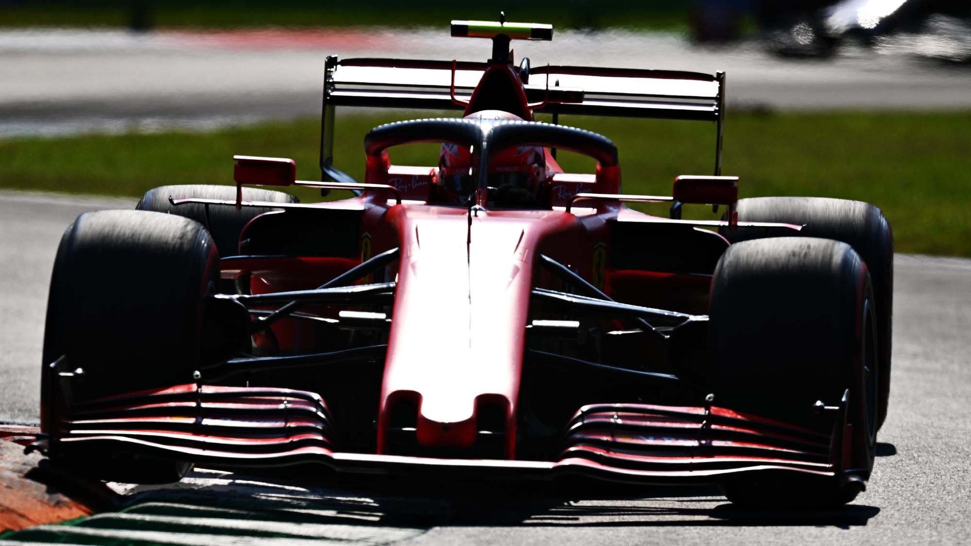Charles Leclerc, 2020 Italian GP
