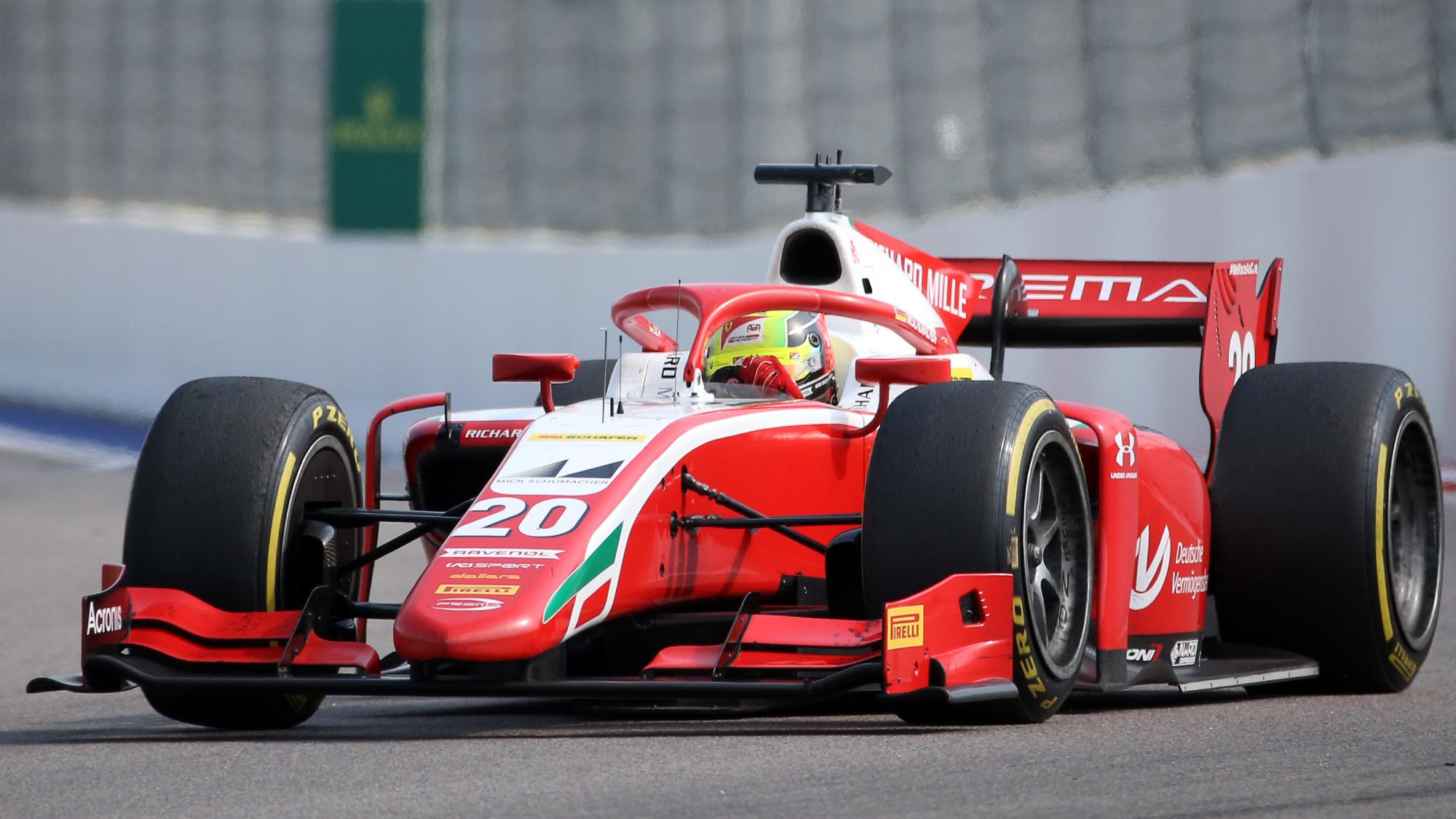 Mick Schumacher, 2020 Russian Sprint Race