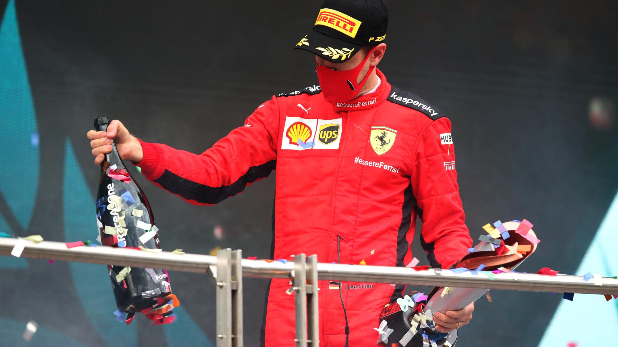 Sebastian Vettel, 2020 Turkish GP