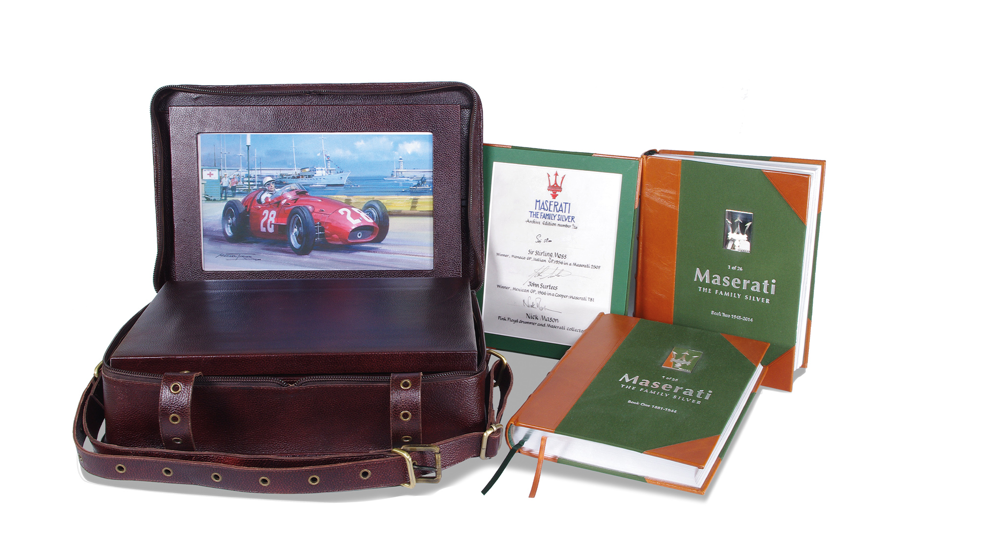 Maserati The Family Silver Special Edition book competition prize