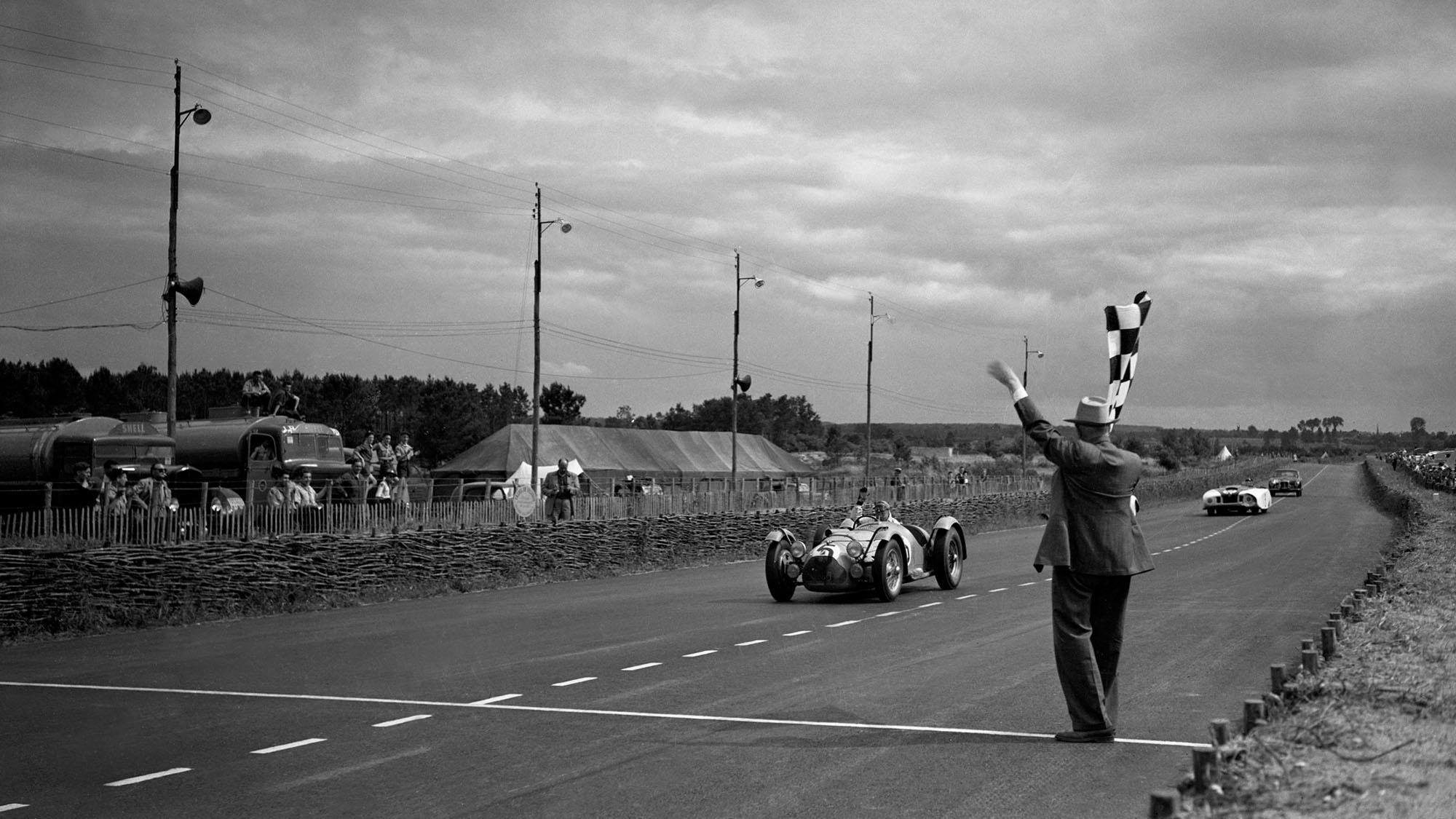 Louis Rosier 1950 Le Mans