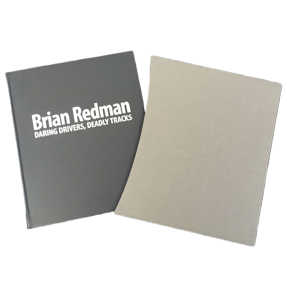 Product image for Daring Drivers, Deadly Tracks | signed Brian Redman | Delux Letherbound Edition