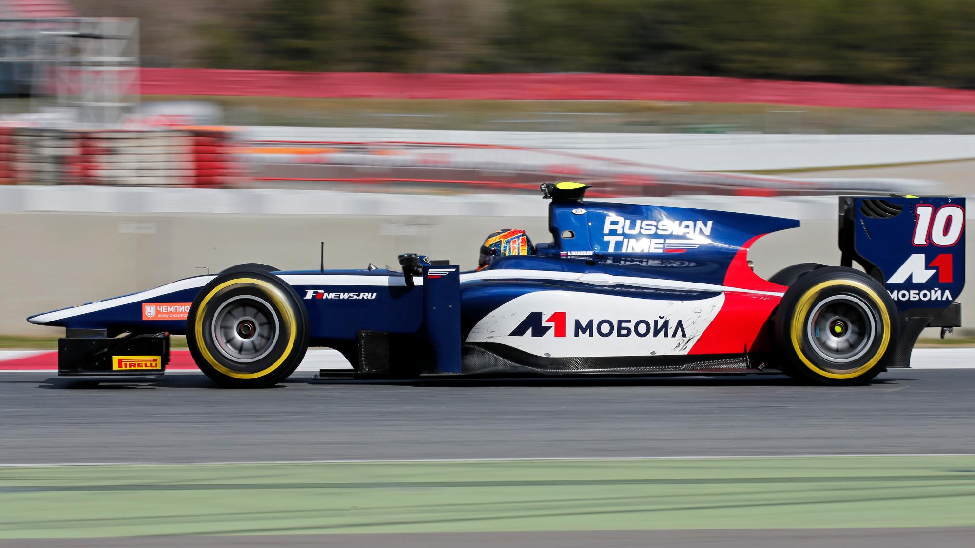 Artem Markelov, Russian Time F2 Team