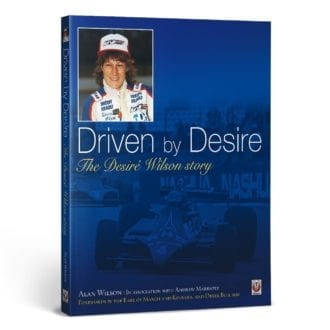 Product image for Driven by Desire – The Desiré Wilson story | Alan Wilson | Hardback