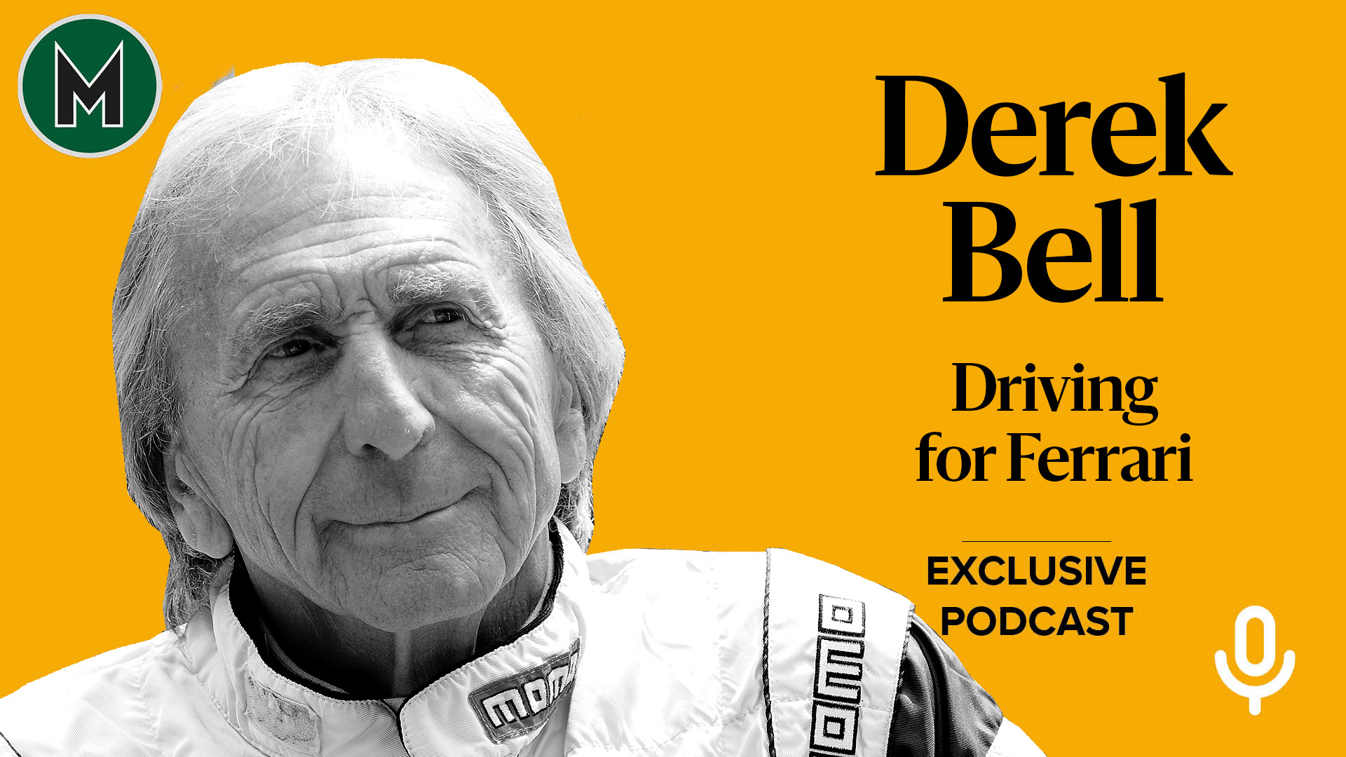 Podcast: Derek Bell, Driving for Ferrari