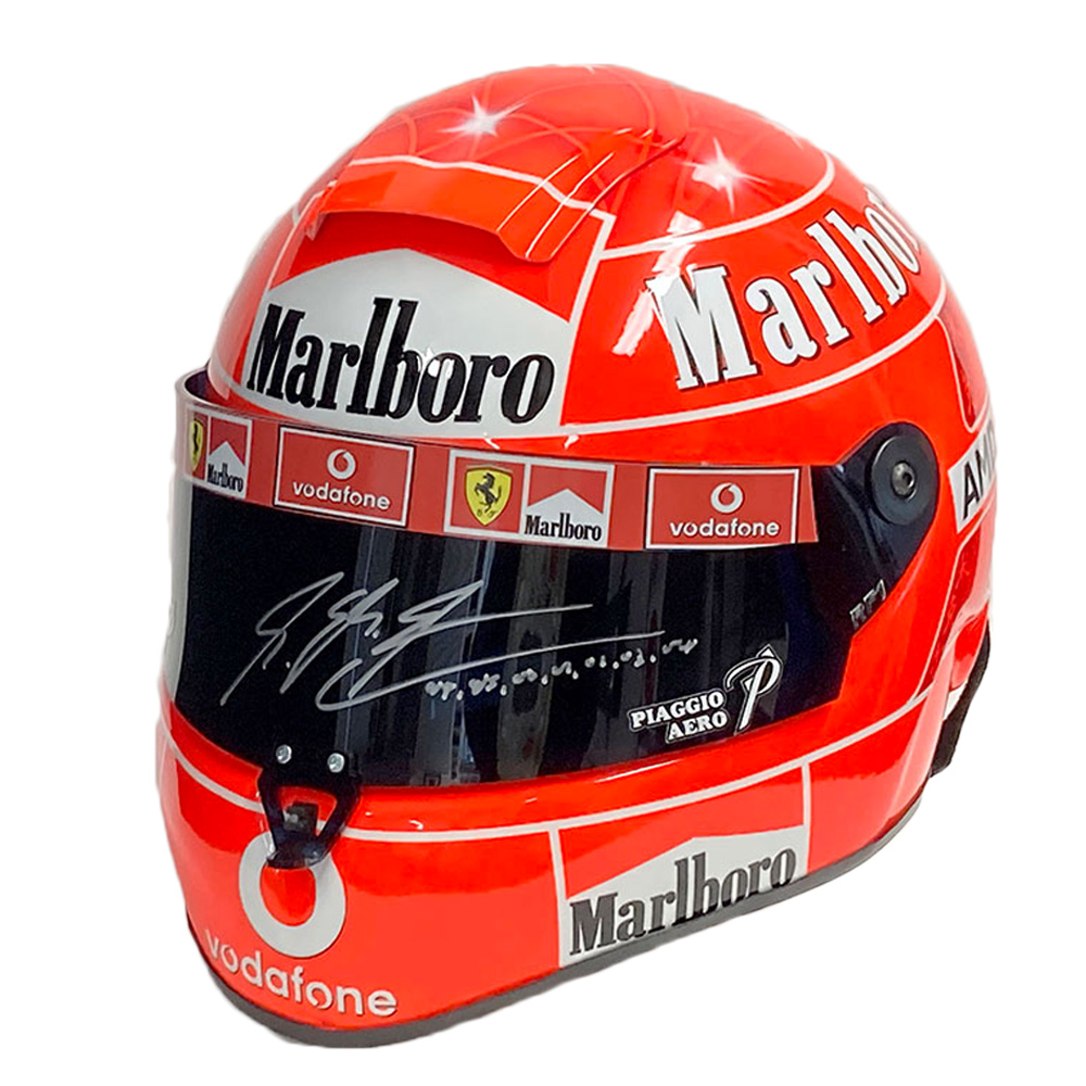 Product image for Full-size Ferrari helmet | 2006 | Michael Schumacher signed