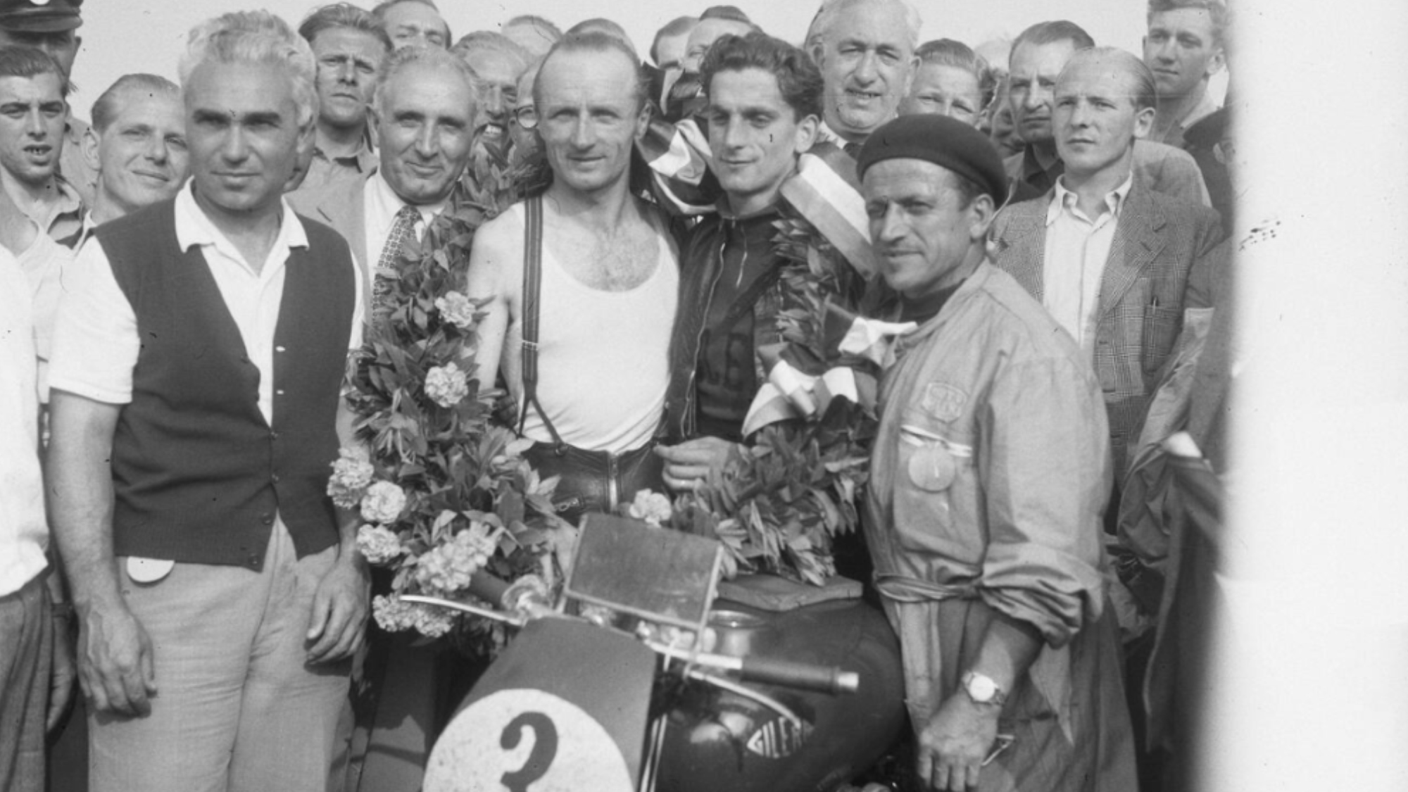 Umberto Masetti 1952 Dutch TT