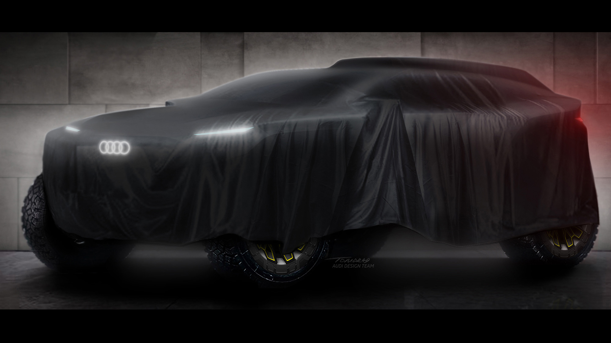 Audi Dakar 2022 concept
