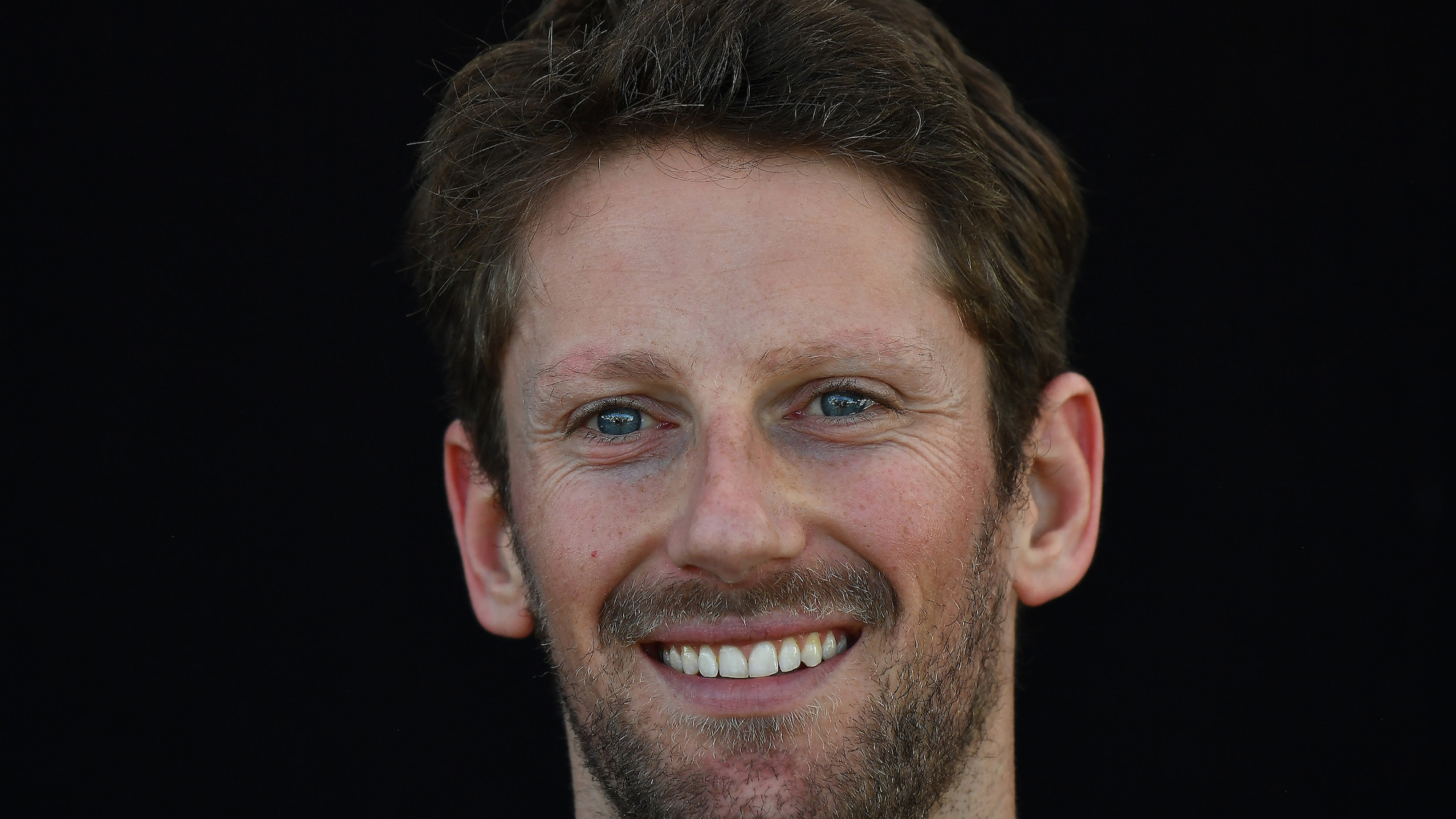 Romain Grosjean portrait from 2018
