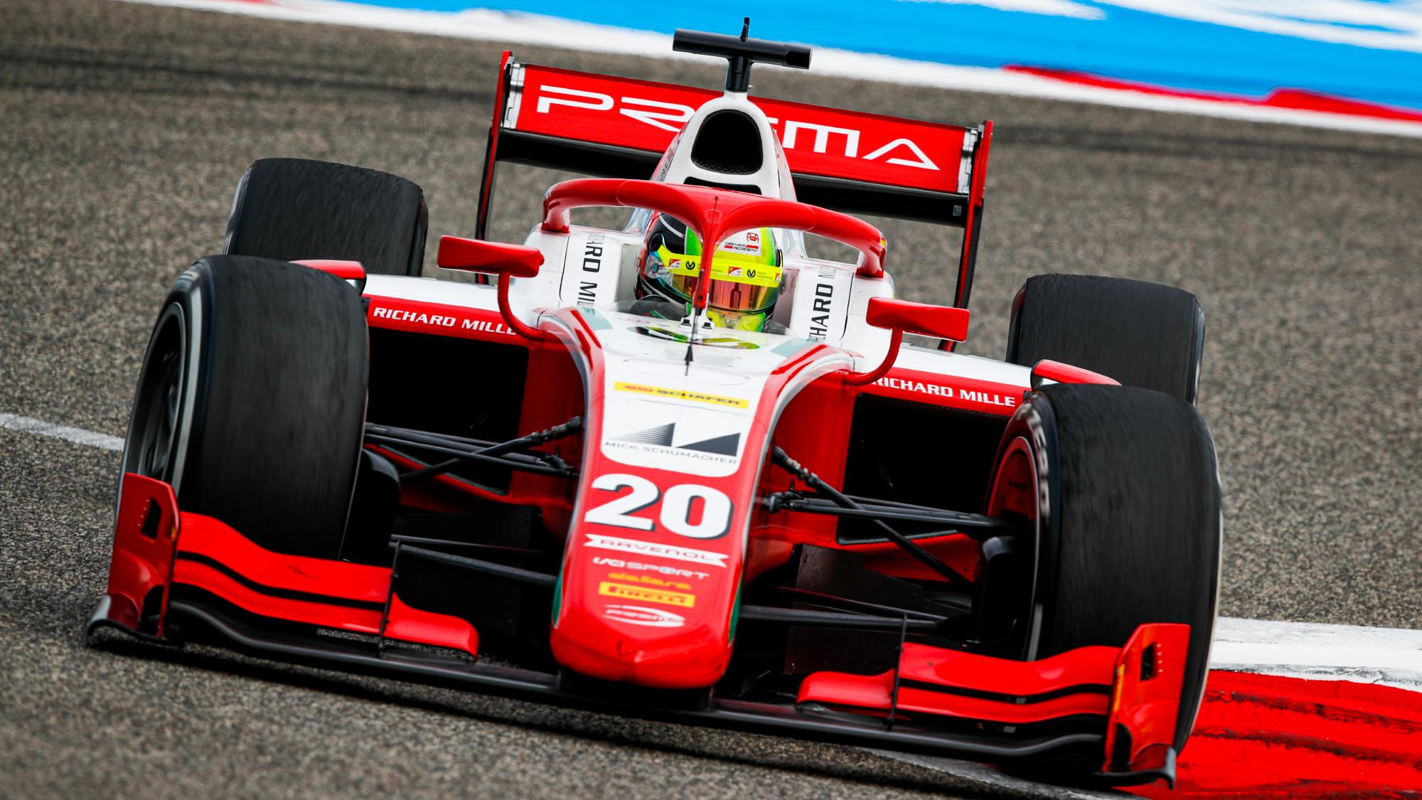 Mick Schumacher, 2020 F2 Bahrain