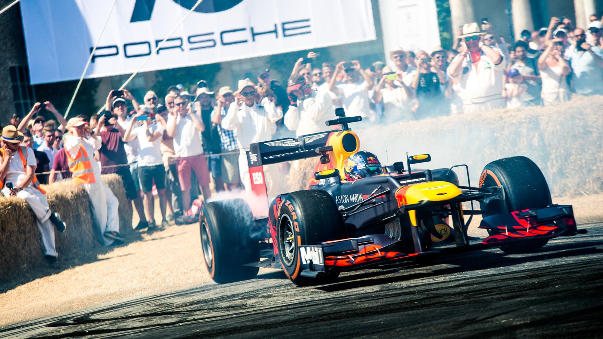 Red Bull at Goodwood Festival of Speed