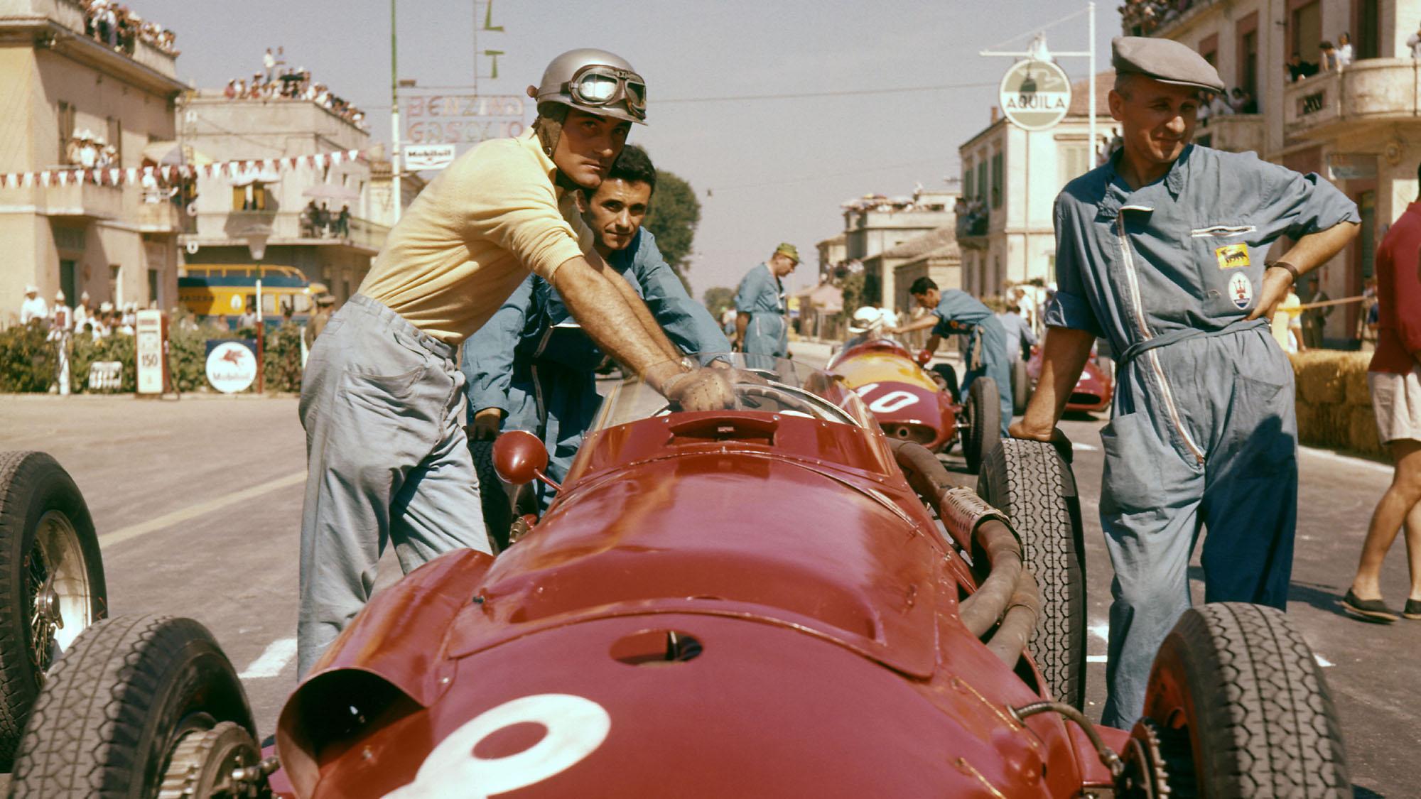 Giorgio Scarlatti Maserati Pescara 1957